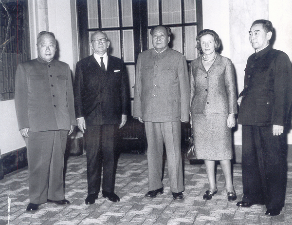 Chairman Mao Meeting with Mr. Faure